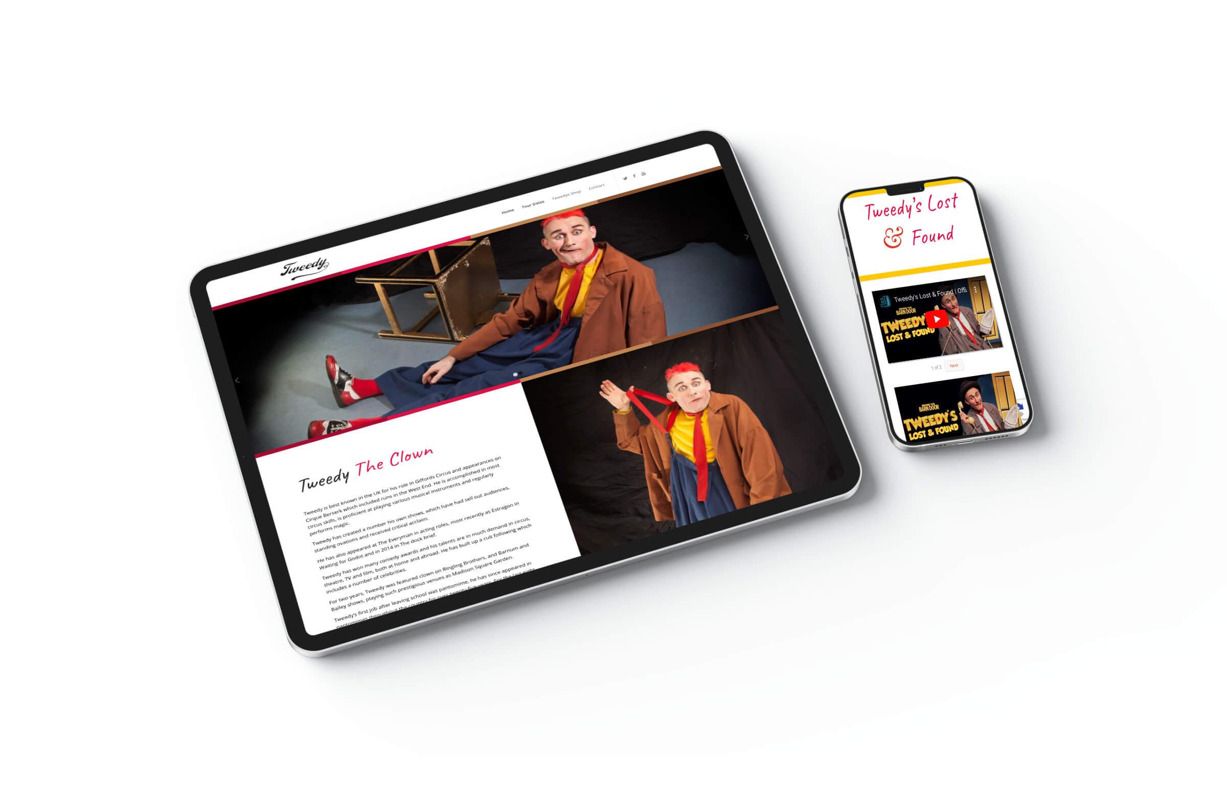 Tweedy iPad