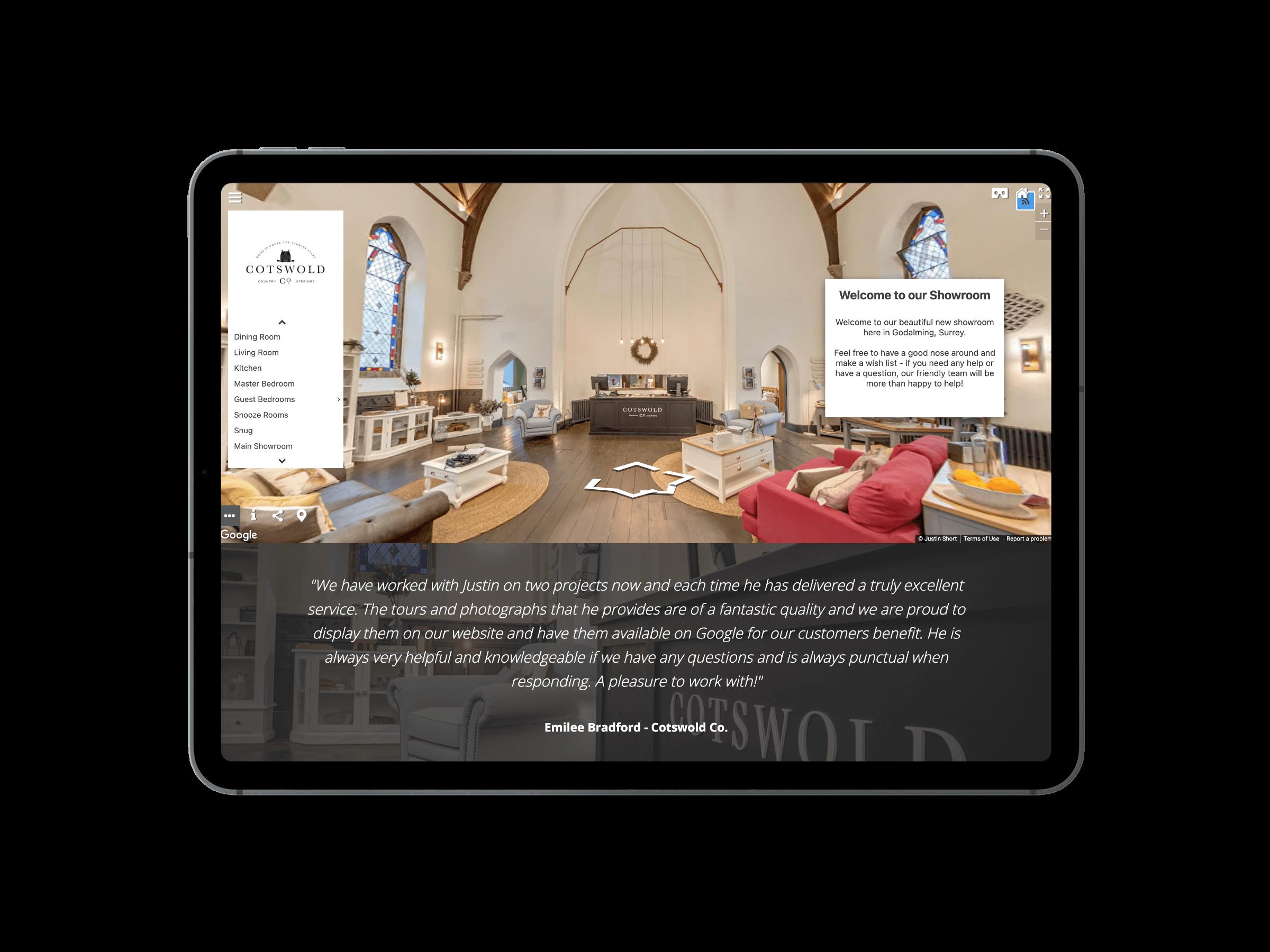 Shortwork iPad Mockup